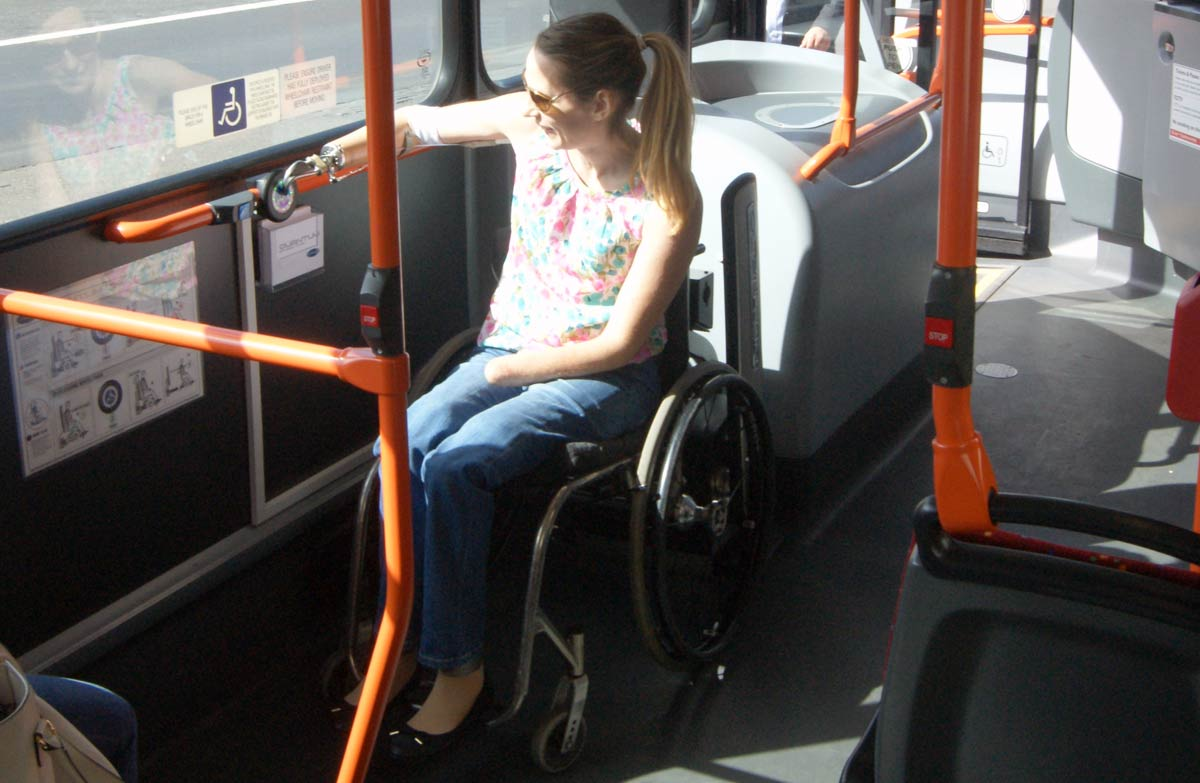QUANTUM Brings Comfort to Mobility Riders Traveling on Buses