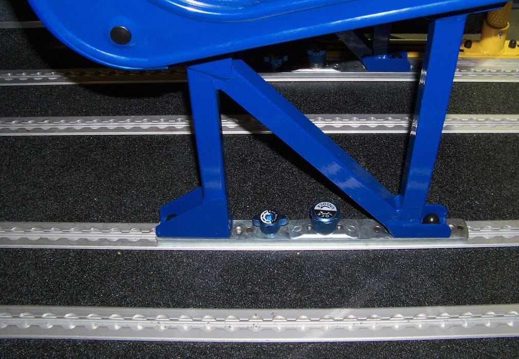 QSF Seat Fixing installed