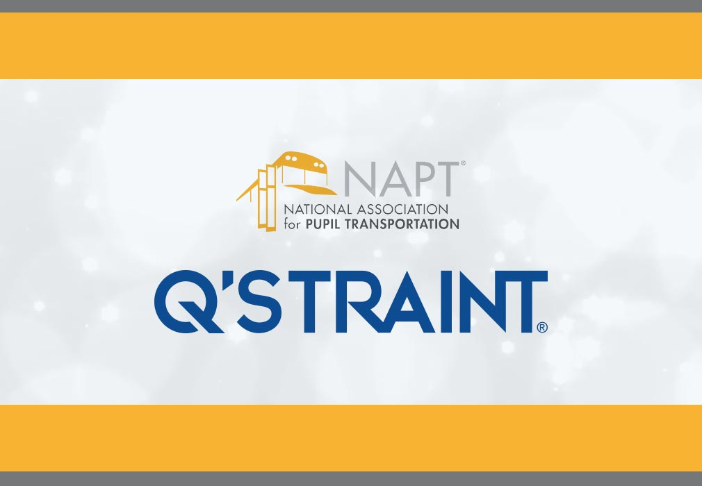 Q'STRAINT & Sure-Lok Continued Sponsorship of the NAPT Special Needs Transportation Award