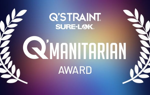 Q'STRAINT & Sure-Lok Announce the Winner of Inaugural Q'MANITARIAN Award